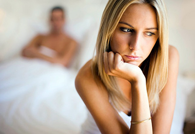Девушка не чувствует удовольствия во время секса