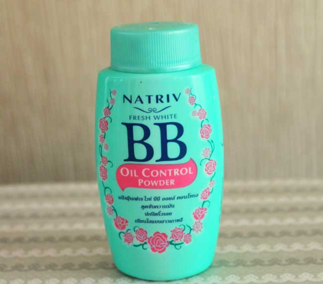 Natriv Fresh White BB Oil Control Powder