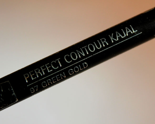 Isadora Perfect Coutour Kajal: Green Gold