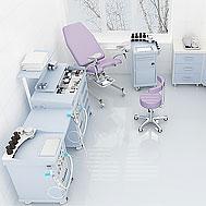 Комплексное оснащению гинекологического кабинета
