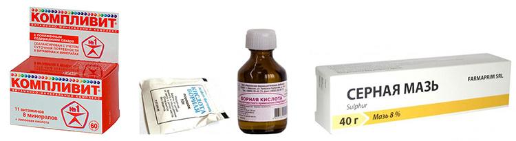 Схема лечение себореи головы