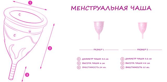 Размер чаши