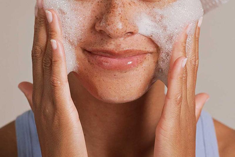 правильный уход за кожей лица 1