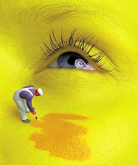 Желтый цвет тебе к лицу